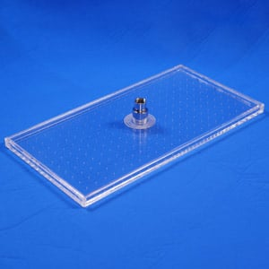 Clear Shower XL Mirror showerhead | Product Shot